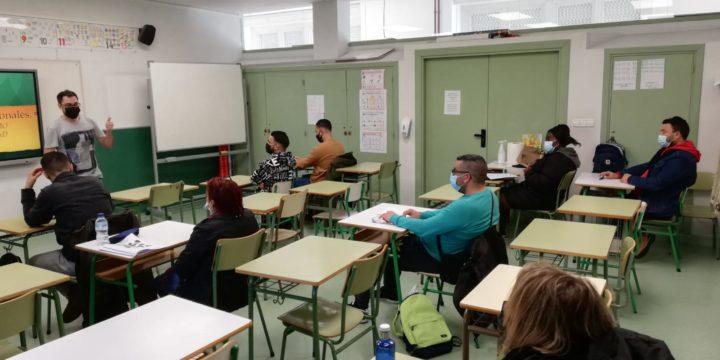 We teach the Gasteiz workshop